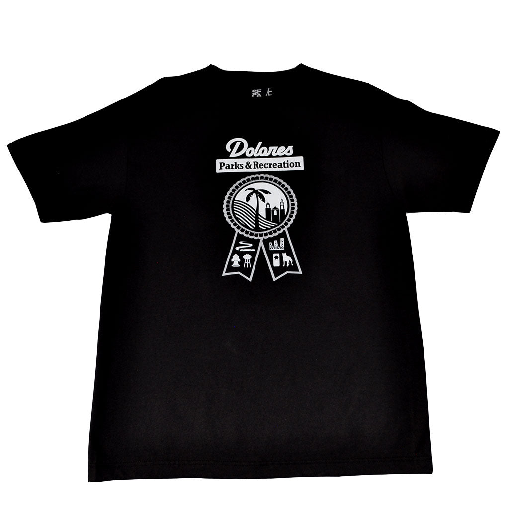 Mens SFCA Park & Rec T-Shirt Black - Shop True Clothing