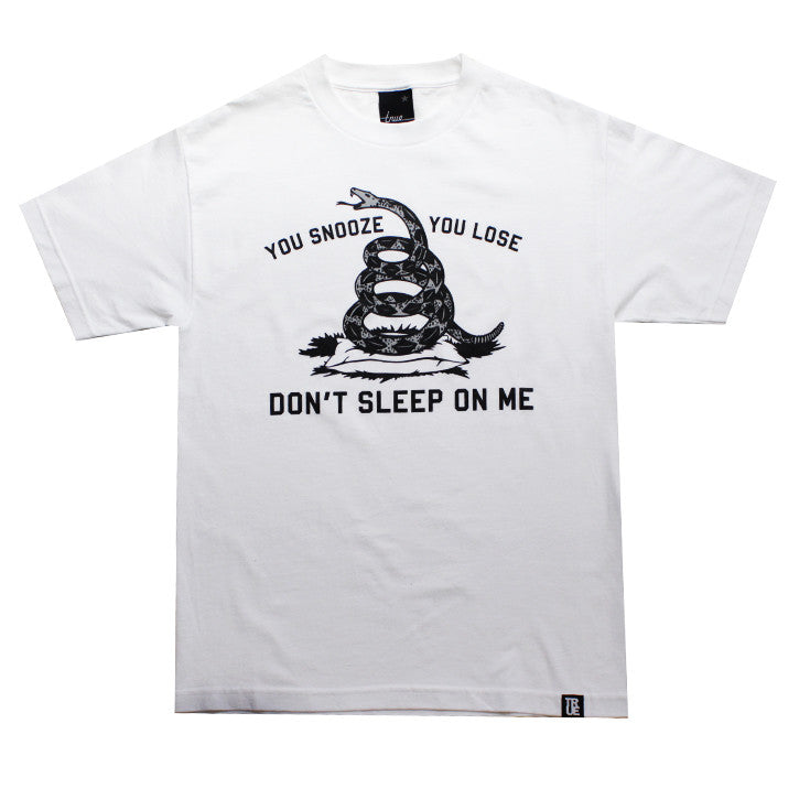 True Mens Dont Sleep T-Shirt White