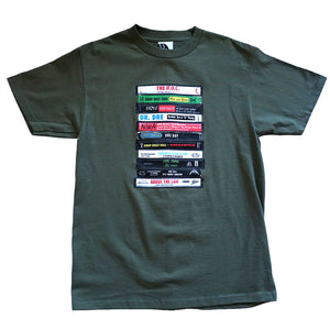 Mens Ongaku Dre Day T-Shirt Olive