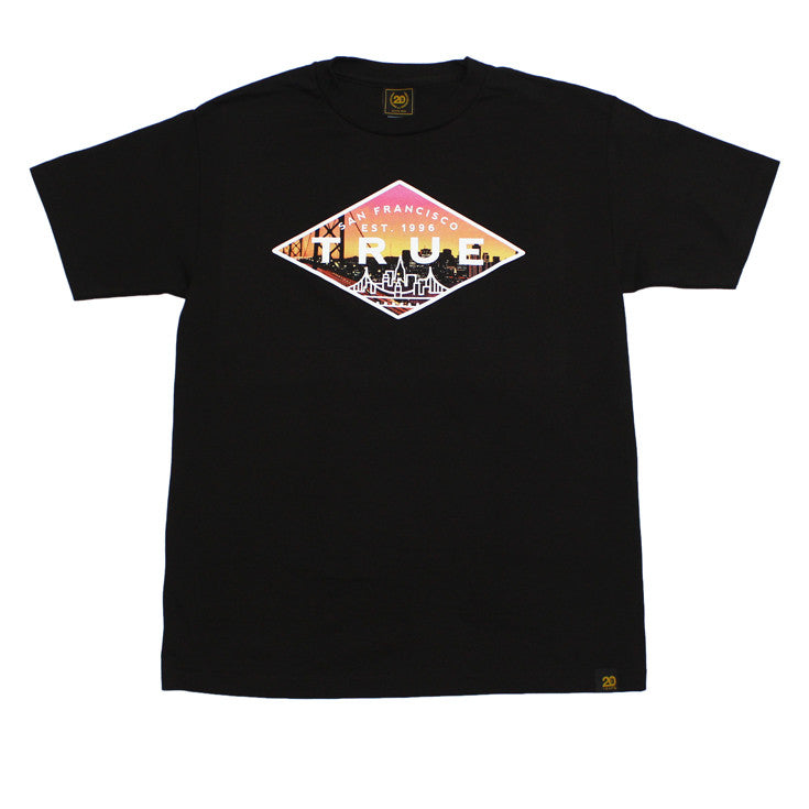 True Mens Established 2 T-Shirt Black - Shop True Clothing