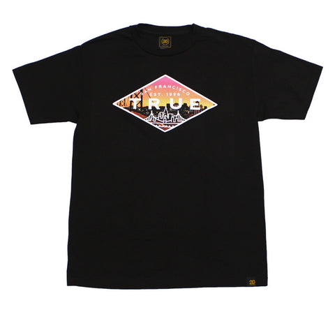 True Mens Established 2 T-Shirt Black