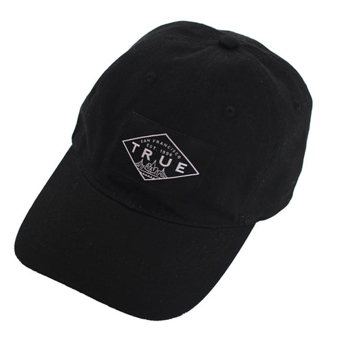 True Established Dad Hat Black - Shop True Clothing