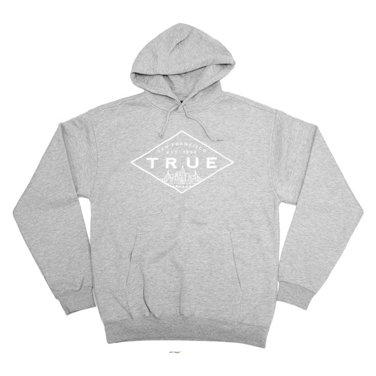 Mens True Established Hoodie Heather - Shop True Clothing