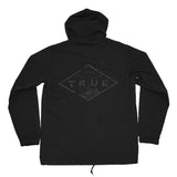True Mens Established Rain Jacket Black