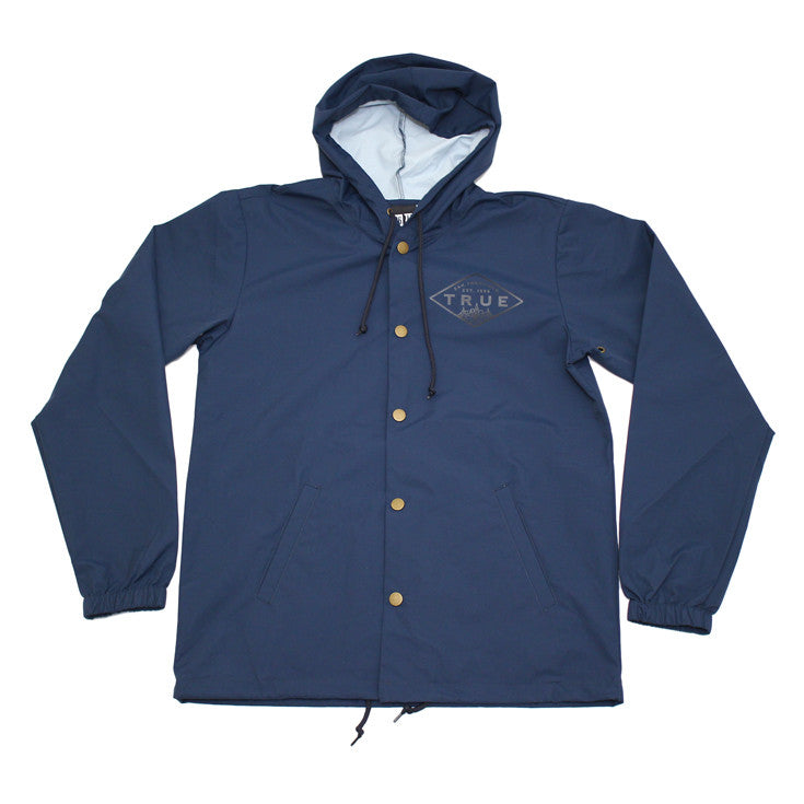 True Mens Established Rain Jacket Navy
