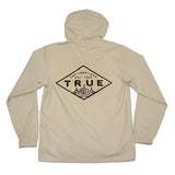 True Mens Established Rain Jacket Tan
