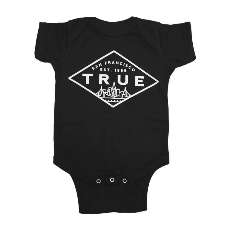 Kids True Established One Piece Black