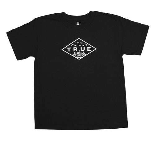Kids True Established T-Shirt Black - Shop True Clothing