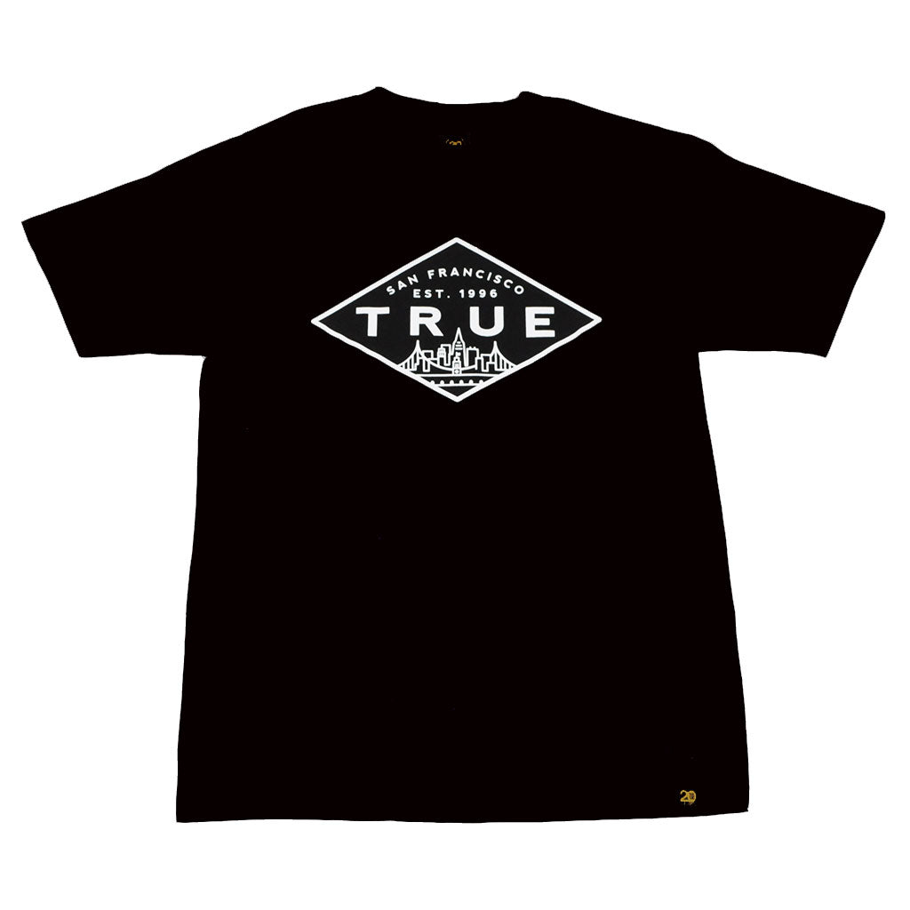 True Mens Established Basic T-Shirt Black - Shop True Clothing