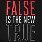 Mens True False Is T-Shirt Black