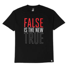 Load image into Gallery viewer, Mens True False Is T-Shirt Black - Shop True Clothing