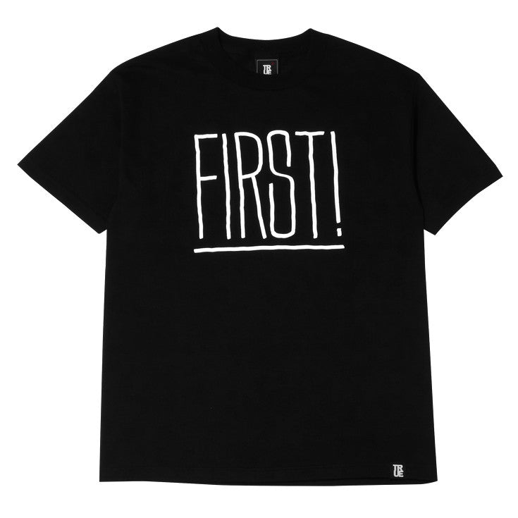 Mens True First T-Shirt Black - Shop True Clothing