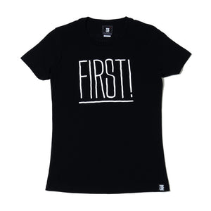 Womens True First T-Shirt Black - Shop True Clothing