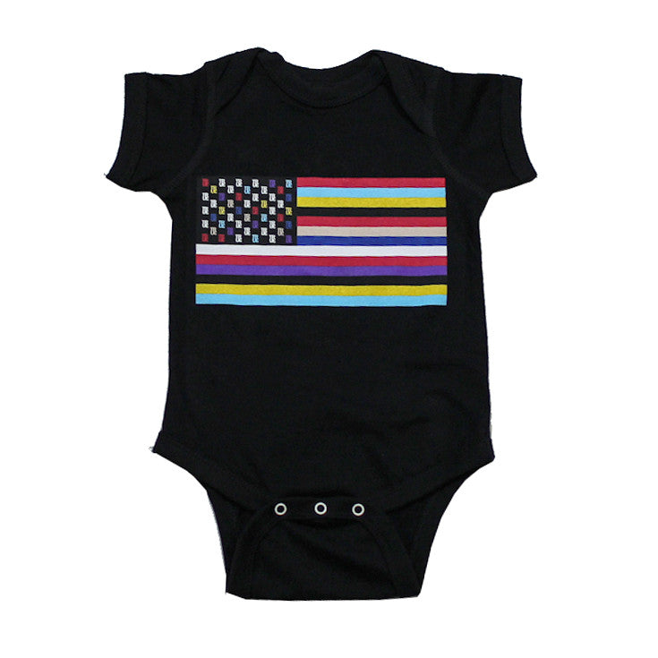 Kids True Flag 2 One Piece Black