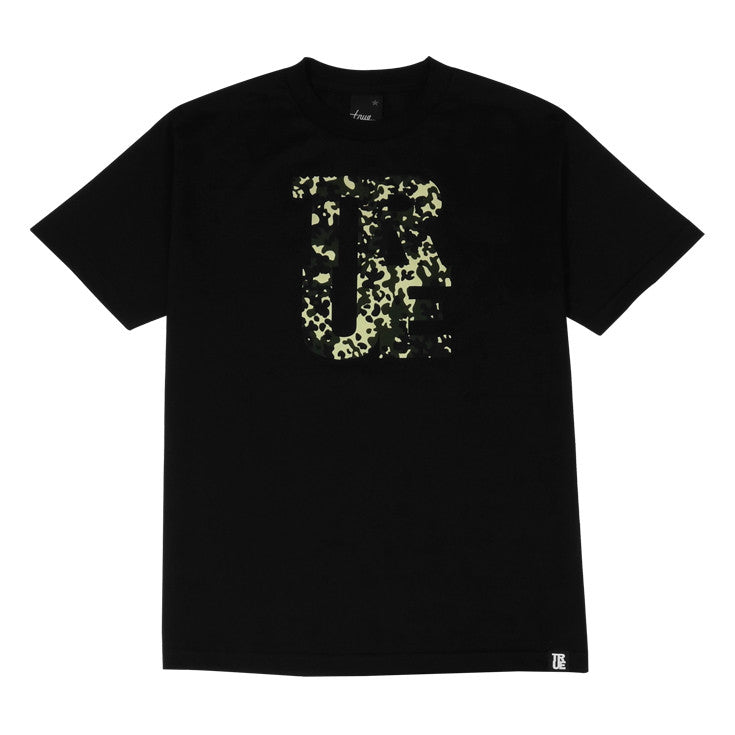 Mens True Fleck T-Shirt Black