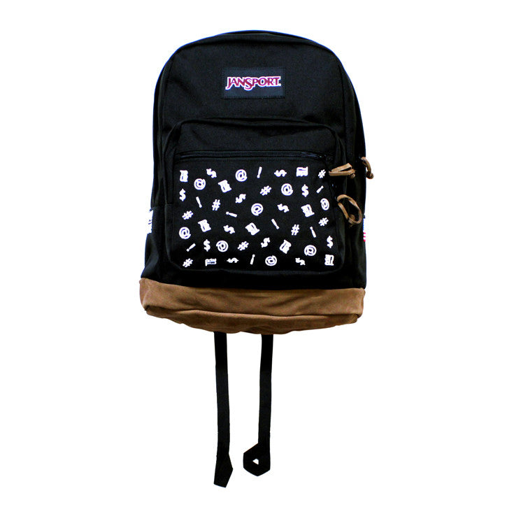 True x Jansport Right Pack Backpack Four Letter