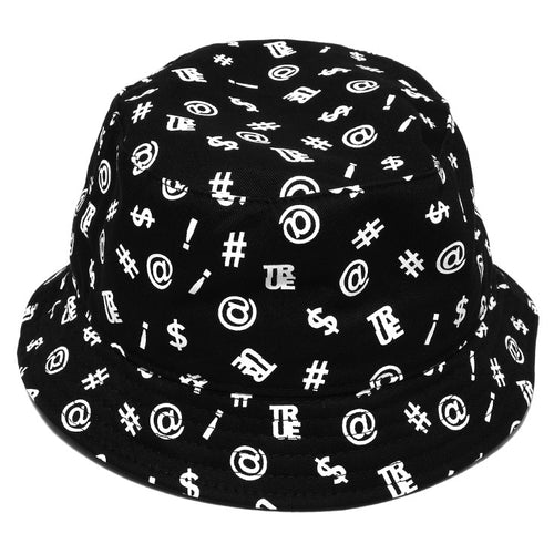 True Four Letter Bucket Hat Black - Shop True Clothing