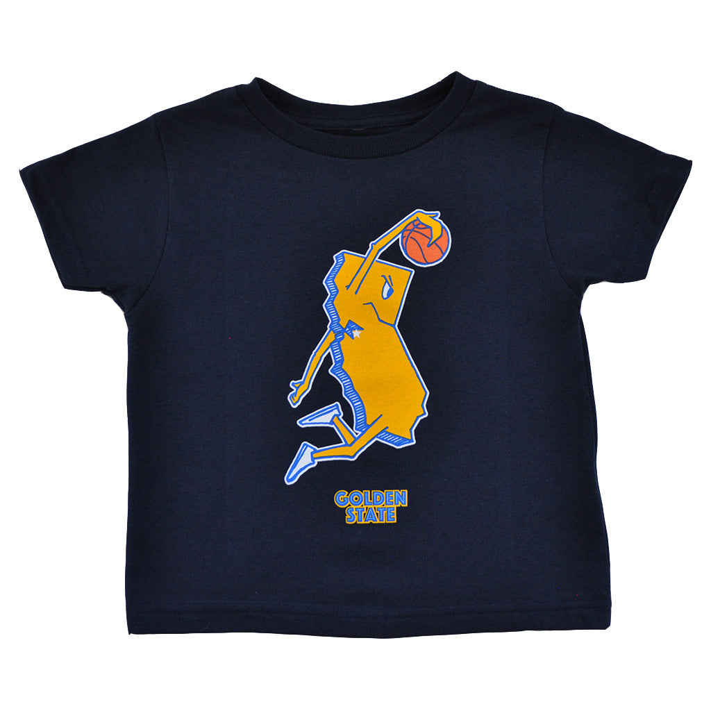 Kids Thrill Of Victory Golden State T-Shirt Navy - Shop True Clothing