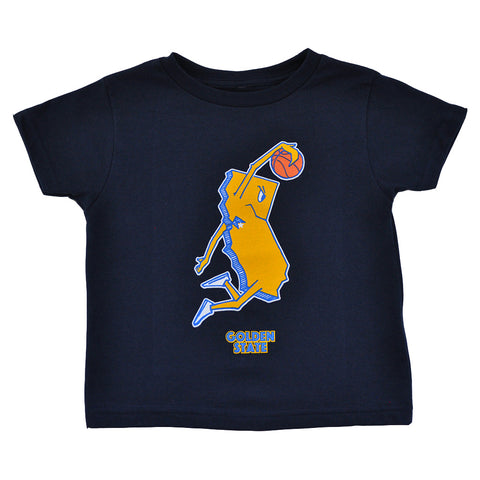 Kids Thrill Of Victory Golden State T-Shirt Navy