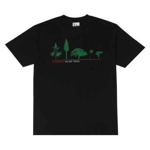 Mens Cali Got Trees T-Shirt Black