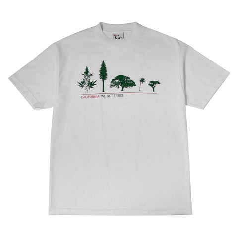 Mens Cali Got Trees T-Shirt White