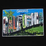 Mens Cali Greetings T-Shirt Black