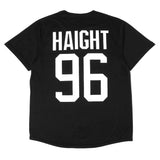 Mens True Haight Jersey Black - Shop True Clothing