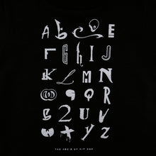 Load image into Gallery viewer, Kids True Hip Hop Alphabet T-Shirt Black - Shop True Clothing