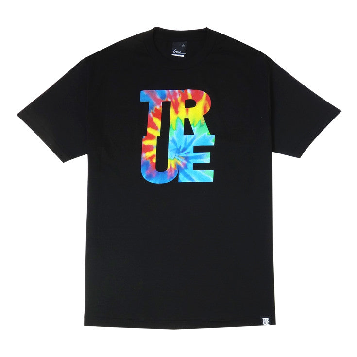 Mens True Hippie Dip T-Shirt Black