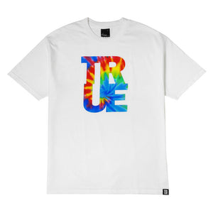Mens True Hippie Dip T-Shirt White - Shop True Clothing