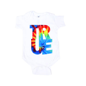 Kids True Hippie Dip One Piece White - Shop True Clothing
