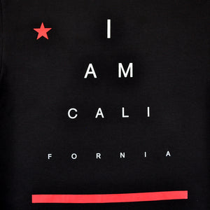 Mens Cali I Am T-Shirt Black - Shop True Clothing