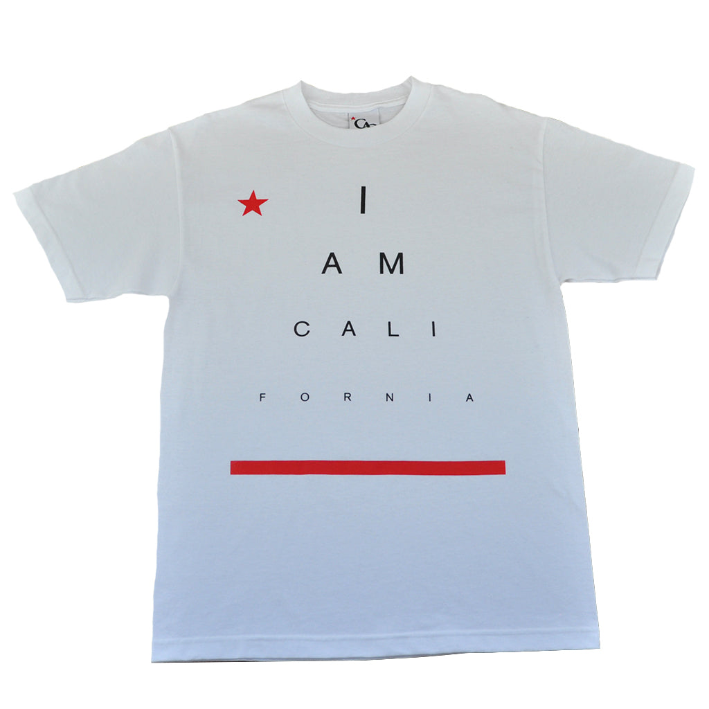 Mens Cali I Am T-Shirt White - Shop True Clothing