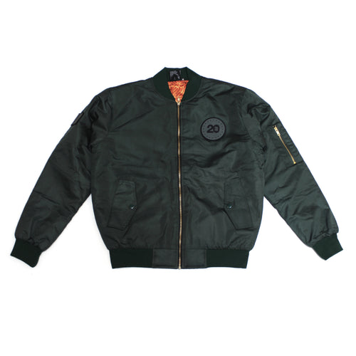 True Mens Two Decades Jacket Forest Green - Shop True Clothing