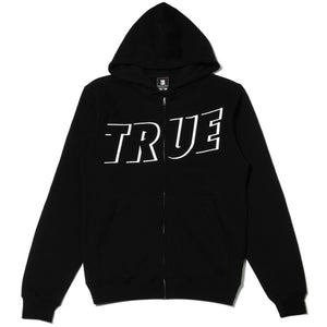 Mens True Just Use It Zip Hoodie Black - Shop True Clothing