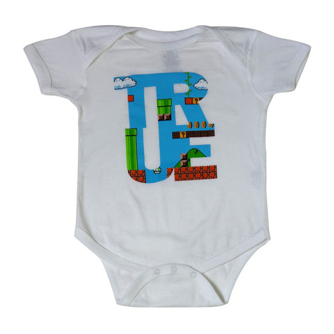Kids True 1Up One Piece White