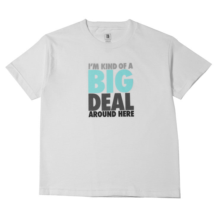 Kids True Big Deal T-Shirt White - Shop True Clothing