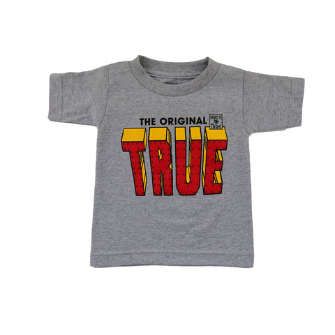 Kids True Iron T-Shirt Heather Grey
