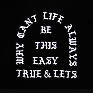 True x Let's Stay Cool Hoodie Black - Shop True Clothing