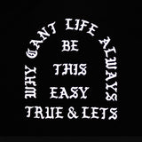 True x Let's Stay Cool One Piece Black - Shop True Clothing