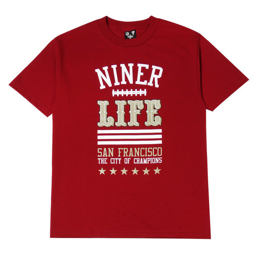 Mens Thrill Of Victory Life T-Shirt Red - Shop True Clothing