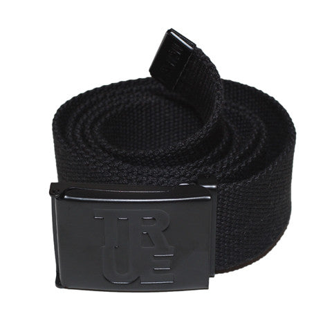 True Logo Belt Black