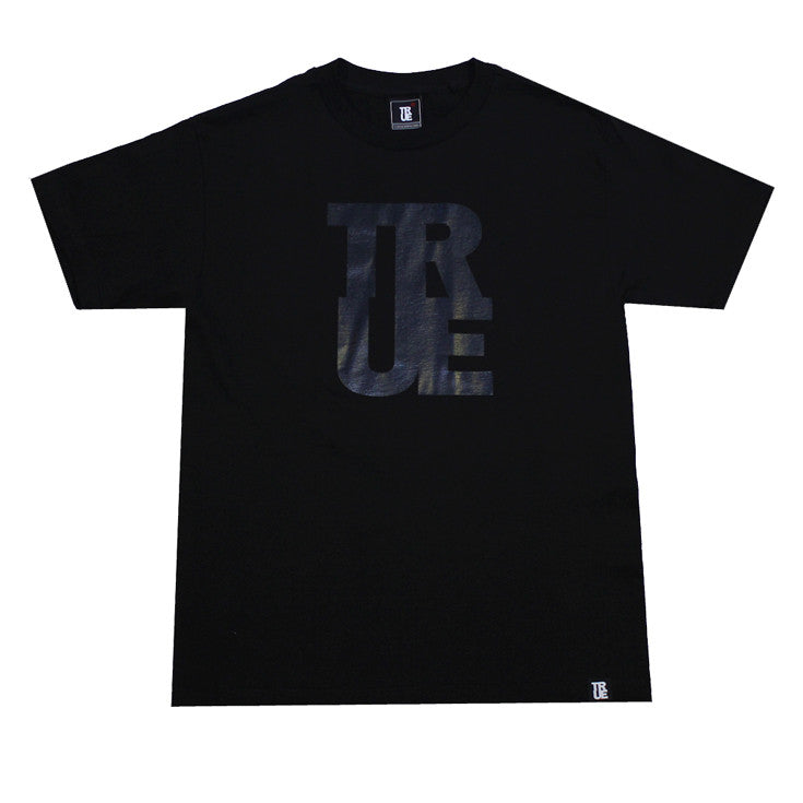 Mens True Logo Black / Black