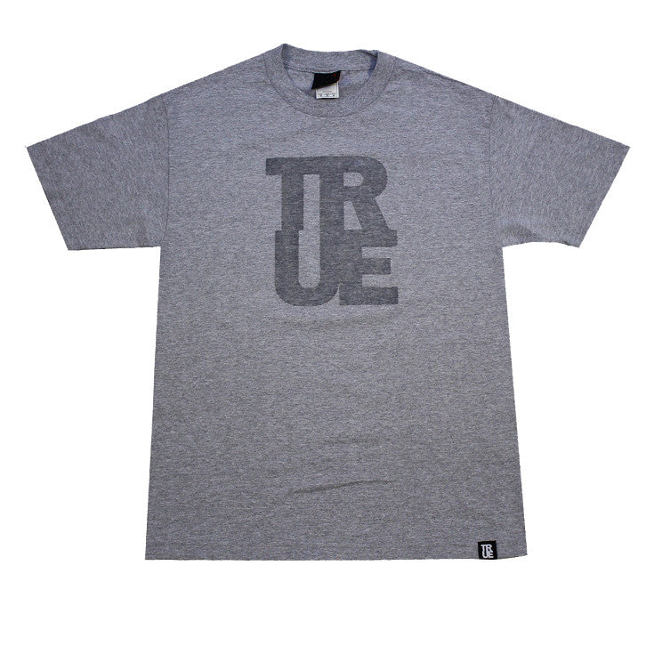 Mens True Logo Heather / Clear