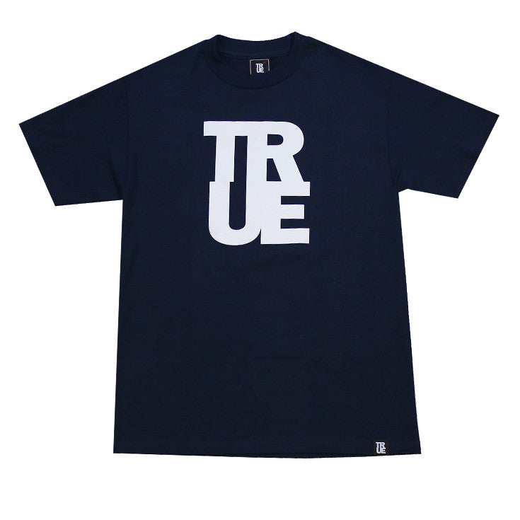 Mens True Logo Navy / White