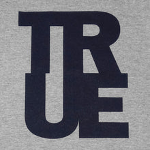 Load image into Gallery viewer, Mens True Logo Raglan T-Shirt Grey/Navy - Shop True Clothing