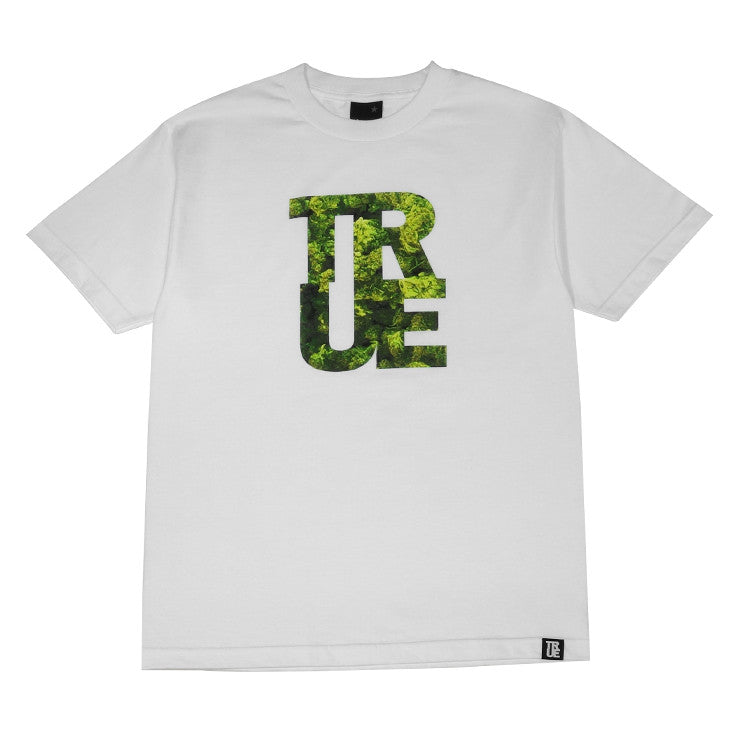 Mens True Logo THC T-Shirt White