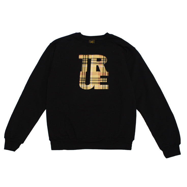 Mens True Canal Crewneck Sweatshirt Black - Shop True Clothing