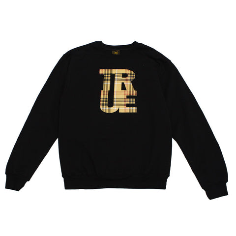 Mens True Canal Crewneck Sweatshirt Black