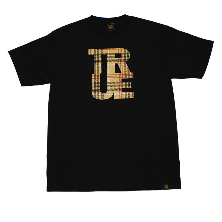 Mens True Logo Canal T-Shirt Black - Shop True Clothing